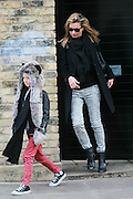26.NOVEMBER.2011. LONDON<br /> <br /> SUPERMODEL KATE MOSS WITH HER DAUGHTER LILA GRACE, LEAVING HER LONDON HOME.<br /> <br /> BYLINE: EDBIMAGEARCHIVE.COM<br /> <br /> *THIS IMAGE IS STRICTLY FOR UK NEWSPAPERS AND MAGAZINES ONLY*<br /> *FOR WORLD WIDE SALES AND WEB USE PLEASE CONTACT EDBIMAGEARCHIVE - 0208 954 5968*
