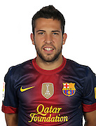F.C. Barcelona 2012 / 2013. Jordi Alba...Photo: Gregorio / ALFAQUII