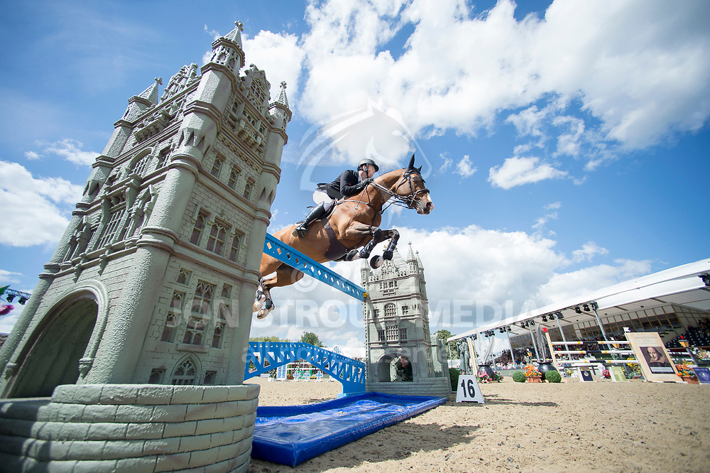 William Whitaker (GBR) & Utamaro D Ecaussines - Rolex Grand Prix - CSI5* Jumping - Royal Windsor Horse Show - Home Park, Windsor, United Kingdom - 14 May 2017