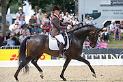 Isabel Bache - Bobcat<br /> FEI World Breeding Dressage Championships for Young Horses 2012<br /> © DigiShots