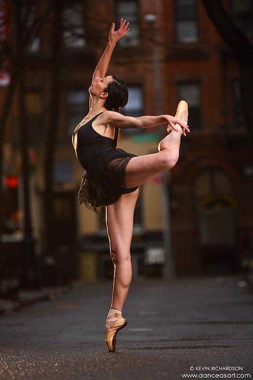 Dance As Art Streets of New York West Village Series with dancer Janna Davis