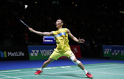 2017?3?8? .     ?????1????——???????????????.       3?8????????????.       ????????????2017??????????????????????????2?0??????Brice Leverdez???????.       ????????.(SP) BRITAIN-BIRMINGHAM-BADMINTON-ALL ENGLAND OPEN-FIRST ROUND.(170308) -- BIRMINGHAM, Mar. 8, 2017  Lee Chong Wei  of Malaysia returns the shuttlecock during the men's singles first round match with Brice Leverdez of France at All England Open Badminton 2017 in Birmingham, Britain on Mar. 8, 2017. (Credit Image: © Han Yan/Xinhua via ZUMA Wire)
