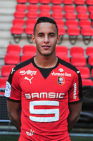 Mehdi Zeffane - 15.09.2015 - Photo officielle Rennes - Ligue 1 2015/2016<br /> Photo : Philippe Le Brech / Icon Sport
