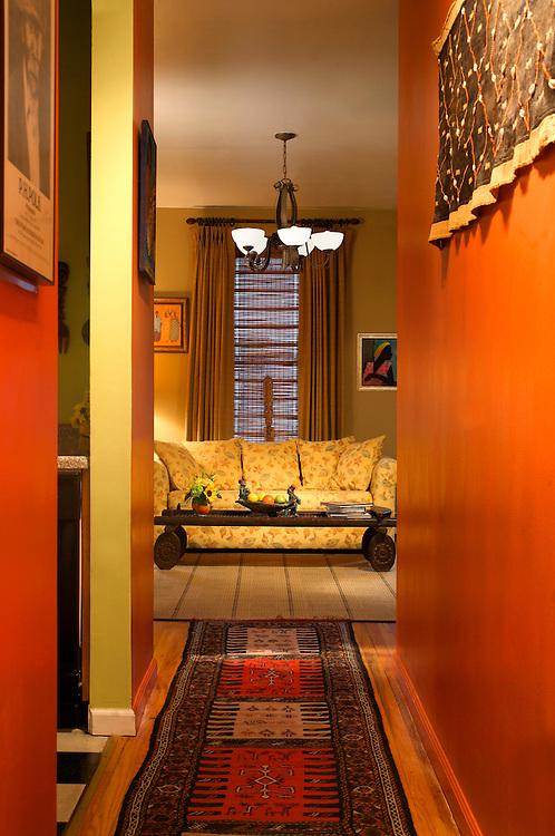Hallway, Residence, Harlem, New York City