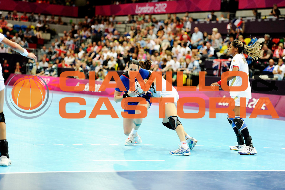 DESCRIZIONE : France Handball Jeux Olympiques Londres <br /> GIOCATORE : LACRABERE Alexandra FRA<br /> SQUADRA : France Femme<br /> EVENTO : FRANCE Basket Jeux Olympiques<br /> GARA : FRANCE ESPAGNE<br /> DATA : 30 07 2012<br /> CATEGORIA : Basketball Jeux Olympiques<br /> SPORT : HANDBALL<br /> AUTORE : JF Molliere <br /> Galleria : France JEUX OLYMPIQUES 2012 Action<br /> Fotonotizia : France Handball Femme Jeux Olympiques Londres premier tour France <br /> Predefinita :