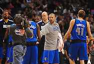 Feb. 17, 2011; Phoenix, AZ, USA; Dallas Mavericks guard Jason Kidd (2) reacts on the court  against the Phoenix Suns at the US Airways Center.  The Mavericks defeated the Suns 112-106. Mandatory Credit: Jennifer Stewart-US PRESSWIRE