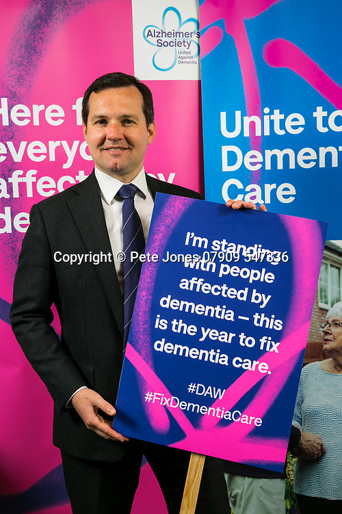 """Chris Green MP;<br /> Alzheimer's Society;<br /> """"Fix Dementia Care & State of the Nation""""<br /> Parliamentary report Launch;<br /> Houses of Parliament, Westminster.<br /> 23rd May 2018.<br /> <br /> © Pete Jones<br /> pete@pjproductions.co.uk"""