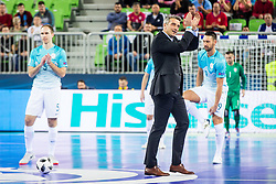 Milenko Acimovic during futsal match between Slovenia and Serbia at Day 1 of UEFA Futsal EURO 2018, on January 30, 2018 in Arena Stozice, Ljubljana, Slovenia. Photo by Ziga Zupan / Sportida