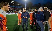 AMSTELVEEN - bondscoach Max Caldas (Ned)   na   de tweede  Olympische kwalificatiewedstrijd hockey mannen ,  Nederland-Pakistan (6-1). Oranje plaatst zich voor de Olympische Spelen 2020.   COPYRIGHT KOEN SUYK