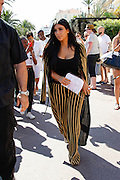 Kim KARDASHIAN of to Armani Cafe in Cannes<br /> ©Exclusivepix Media