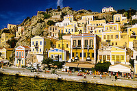 Yialos, Island of Symi, Dodecanese, Greece