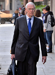 © Licensed to London News Pictures. 21/05/2018. London, UK. Sir Martin Moore-Bick arrives for the start of the Grenfell inquiry commemoration hearings. Each of the 71 victims of the Grenfell Tower fire will be commemorated to mark the start of evidence being heard by the public inquiry into the tragedy. Photo credit: Ray Tang/LNP