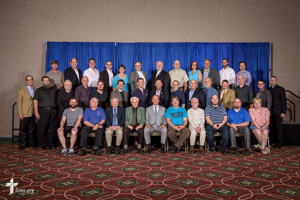 Southeastern District group photograph at the 66th Regular Convention of The Lutheran Church–Missouri Synod on Saturday, July 9, 2016, at the Wisconsin Center in Milwaukee. LCMS/Erik M. Lunsford