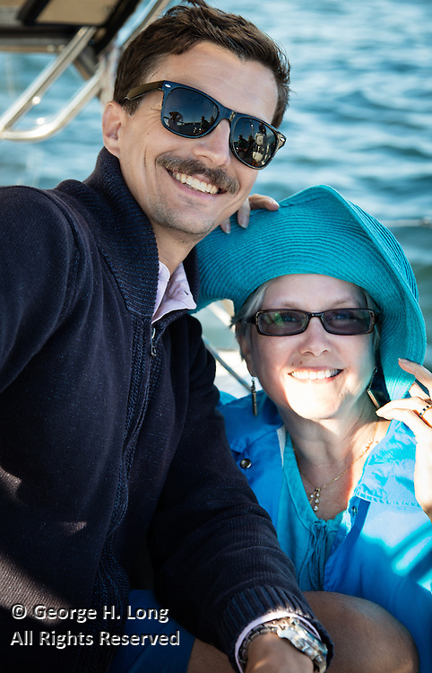 Trey Dye and Courtney Blitch on Prime Number in San Francisco Bay