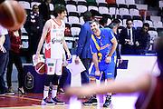 Amedeo Della Valle, Drake Diener<br /> Grissin Bon Pallacanestro Reggio Emilia - Betaland Capo d' Orlando<br /> Lega Basket Serie A 2016/2017<br /> Reggio Emilia, 05/12/2016<br /> Foto Ciamillo-Castoria