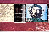 Image of Ernesto Che Guevara in Cardenas, Cuba.
