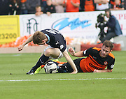 Dundee United's Keith Watson brings down Dundee's Craig Wighton - Dundee v Dundee United, SPFL Premiership at Dens Park<br /> <br />  - &copy; David Young - www.davidyoungphoto.co.uk - email: davidyoungphoto@gmail.com