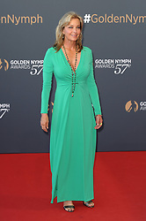 Bo Derek and John Corbett posing on 57th Monte Carlo Television Festival Closing Ceremony. 20 Jun 2017 Pictured: Bo Derek. Photo credit: maximon / MEGA TheMegaAgency.com +1 888 505 6342