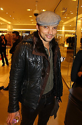 GERRY DE VEAUX at the launch of Roberto Cavalli Vodka held in the International Designer Room, Harrods, Hans Crescent, London on 5th December 2006.<br />