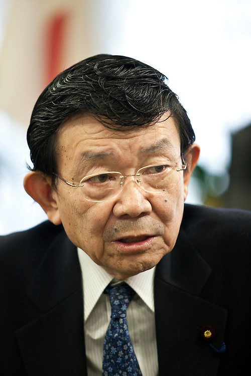 """Kaoru Yosano (??? ? ), born August 22, 1938) is a Japanese politician. He is a member of Liberal Democratic Party (LDP) and member of the House of Representatives, currently serving his ninth term in the Lower House representing Tokyo's first electoral district. Yosano was Chief Cabinet Secretary to Prime Minister Shinzo Abe from August 2007 to September 2007 and is currently State Minister in charge of Economic and Fiscal Policy...Born the grandson of poets Yosano Akiko and Yosano Tekkan in Tokyo, he graduated from the University of Tokyo in 1963. In 1972 he unsuccessfully ran for a seat in House of Representatives. Yosano then served as secretary to Yasuhiro Nakasone. He ran again in 1976 and was elected for the first time. On August 27, 2007, he was appointed Chief Cabinet Secretary to Prime Minister Shinzo Abe, replacing Yasuhisa Shiozaki. He was replaced by Nobutaka Machimura on September 27 when Yasuo Fukuda succeeded Abe.[1]..Yosano was appointed as State Minister in charge of Economic and Fiscal Policy on August 1, 2008.[2]..Yosano is known for advocating an increase in the consumption tax to reconstruct the nation's debt-ridden fiscal structure. His hobbies include golf, making computers, photography, fishing, and playing Japanese board games.[1]..Following the resignation of Prime Minister Yasuo Fukuda, Yosano announced his candidacy for the LDP presidency on September 8, 2008: """"I believe politicians should never mislead the public by showing some rosy pictures. The LDP is facing the biggest crisis since its creation. I will contest the election with high spirits and the courage to lead Japan. Japan is going through a crisis. I will battle the situation for the benefit of the people.""""[3][4] In the leadership election, held on September 22, 2008, Taro Aso was elected with 351 of the 527 votes, while Yosano trailed in second place with 66 votes.[5] In Aso's Cabinet, appointed on 24 September 2008, Yosano retained his post as State Minister in charge of Econo"""