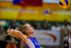 23-08-2017 NED: World Qualifications Czech Republic - Bulgaria, Rotterdam<br /> Katerina Kohoutova #3 of Czech Republic