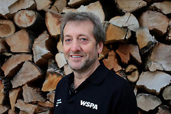 ROMANIA ZARNESTI 29OCT12 - Victor Watkins, Wildlife Advisor for the World Society for the Protection of Animals at the Zarnesti Bear Sanctuary in Romania, funded by WSPA.....With over 160 acres (70 hectares) spread over a wooded hillside, it is Romania's first bear sanctuary and today houses 67 bears rescued from ramshackle zoos and cages at roadside restaurants.......jre/Photo by Jiri Rezac / WSPA......© Jiri Rezac 2012