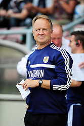 Bristol City Head coach, Sean O'Driscoll   - Photo mandatory by-line: Dougie Allward/JMP - Tel: Mobile: 07966 386802 11/08/2013 - SPORT - FOOTBALL - Sixfields Stadium - Sixfields Stadium -  Coventry V Bristol City - Sky Bet League One