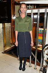 CHRISTY TURLINGTON BURNS at a dinner in honour of Christy Turlington hosted by Porter magazine at Mr Chow, Knightsbridge, London on 18th November 2014.