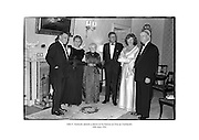 John F. Kennedy attends a dinner in his honour at &Aacute;ras an Uachtar&aacute;in.<br />