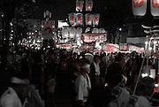 The annual Kuwana City Ishidori (Stone-brining festival) held in summer.