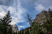 Cascade Creek Trail, at Grand Teton National Park, Wyoming