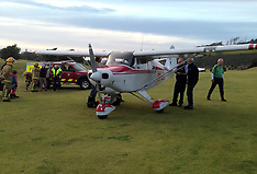 Auckland-Light plane lands safely on golf course