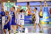 DESCRIZIONE : Lucca Qualificazioni Europei donne 2015 Italia Estonia<br /> GIOCATORE : team<br /> CATEGORIA : esultanza<br /> EVENTO : Qualificazioni Europei donne 2015<br /> GARA : Italia Estonia<br /> DATA : 08/06/2014 <br /> SPORT : Pallacanestro <br /> AUTORE : Agenzia Ciamillo-Castoria/De Massis<br /> Galleria : Fip Nazionali 2014 <br /> Fotonotizia : Lucca Qualificazioni Europei donne 2015 Italia Estonia<br /> Predefinita :