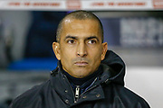 Nottingham Forest manager Sabri Lamouchi during the EFL Sky Bet Championship match between Millwall and Nottingham Forest at The Den, London, England on 6 December 2019.
