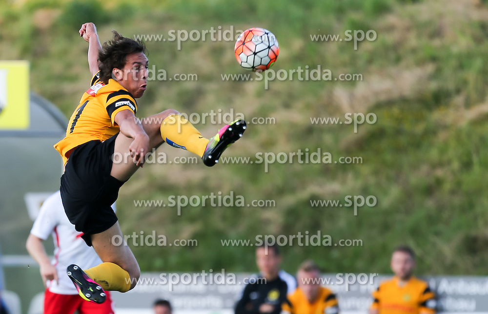 01.07.2016, Sportarena, Strasswalchen, AUT, Testspiel, FC Red Bull Salzburg vs BSC Young Boys, im Bild Michael Frey (BSC Young Boys Bern) // during a friendly football match between FC Red Bull Salzburg and BSC Young Boys at the Sportarena in Strasswalchen, Austria on 2016/07/01. EXPA Pictures © 2016, PhotoCredit: EXPA/ Roland Hackl