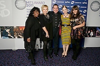 Ruby Turner, Jennifer Saunders, Jools Holland, Imelda May and Rumer at the 2011 MITs Award. Held at the Grosvenor Hotel London in aid of Nordoff Robbins and the BRIT School. Monday, Nov.7, 2011