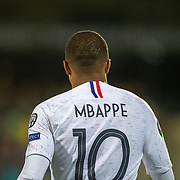 ANDORRA LA VELLA, ANDORRA. June 1. Kylian Mbappe #10 of France in action during the Andorra V France 2020 European Championship Qualifying, Group H match at the Estadi Nacional d'Andorra on June 11th 2019 in Andorra (Photo by Tim Clayton/Corbis via Getty Images)