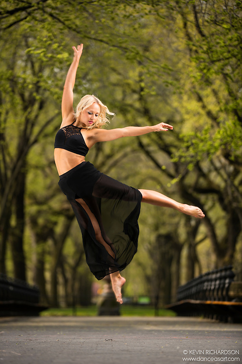 Dance As Art The New York City Photography Project Central Park Series with dancer Jenny Bohlstrom