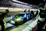 January 22-26, 2020. IMSA Weathertech Series. Rolex Daytona 24hr. #44 GRT Magnus Racing, Lamborghini Huracan GT3, GTD: John Potter, Andy Lally, Spencer Pumpelly, Marco Mapelli pitstop
