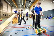 373956-reportage over turnles voor mindervalide kinderen-sporthal de kollebloem Puurs