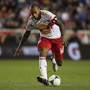 Thierry Henry, New York Red Bulls, in action during the New York Red Bulls V Houston Dynamo, Major League Soccer second leg of the Eastern Conference Semifinals match at Red Bull Arena, Harrison, New Jersey. USA. 6th November 2013. Photo Tim Clayton