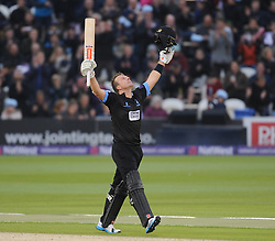 Sussex's Chris Nash celebrates his century.  - Mandatory by-line: Alex Davidson/JMP - 01/06/2016 - CRICKET - The 1st Central County Ground - Hove, United Kingdom - Sussex v Somerset - NatWest T20 Blast