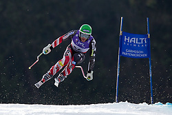 12.02.2011, Kandahar, Garmisch Partenkirchen, GER, FIS Alpin Ski WM 2011, GAP, Herren Abfahrt, im Bild Bode Miller (USA) takes to the air competing in the men's downhill race on the Kandahar race piste at the 2011 Alpine skiing World Championships, EXPA Pictures © 2010, PhotoCredit: EXPA/ M. Gunn