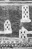 Yemen. Architecture  in Black & White