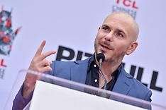 Pitbull Hand And Footprint Ceremony - 14 Dec 2018