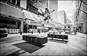 Parkour on the streets of Auckland