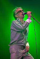 Alabama 3 on the Fat Sam stage. Rockness, Saturday 13th June 2009..Pic © Michael Schofield. All Rights Reserved.