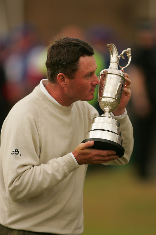 Todd Hamilton..2004 Open Championship.( British Open ).Royal Troon GC.Troon, Scotland UK.Final Round.Sunday, July 18 2004..photograph by Darren Carroll