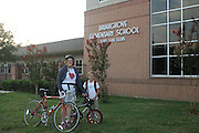 Briargrove Elementary School participating in Walk-Bike-Scoot-Carpool to School program on September 25 and October 30, 2015. Photos courtesy of Rebecca Luman.