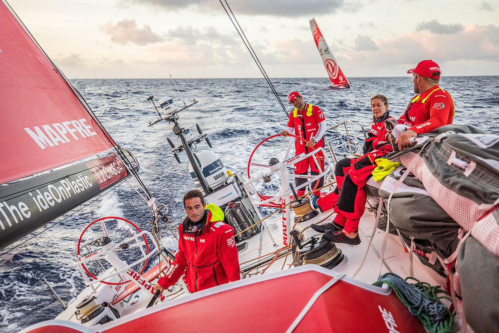 Leg 6 to Auckland, day 07 on board MAPFRE. 13 February, 2018.
